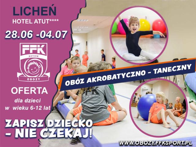 Obóz FFK Akro-Dance